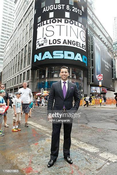 Josh Altman rings the closing bell at the NASDAQ MarketSite on August 8 2013 in New York City