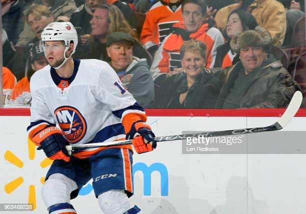 Josh Bailey of the New York Islanders skates against the Philadelphia Flyers on January 4 2018 at the Wells Fargo Center in Philadelphia Pennsylvania