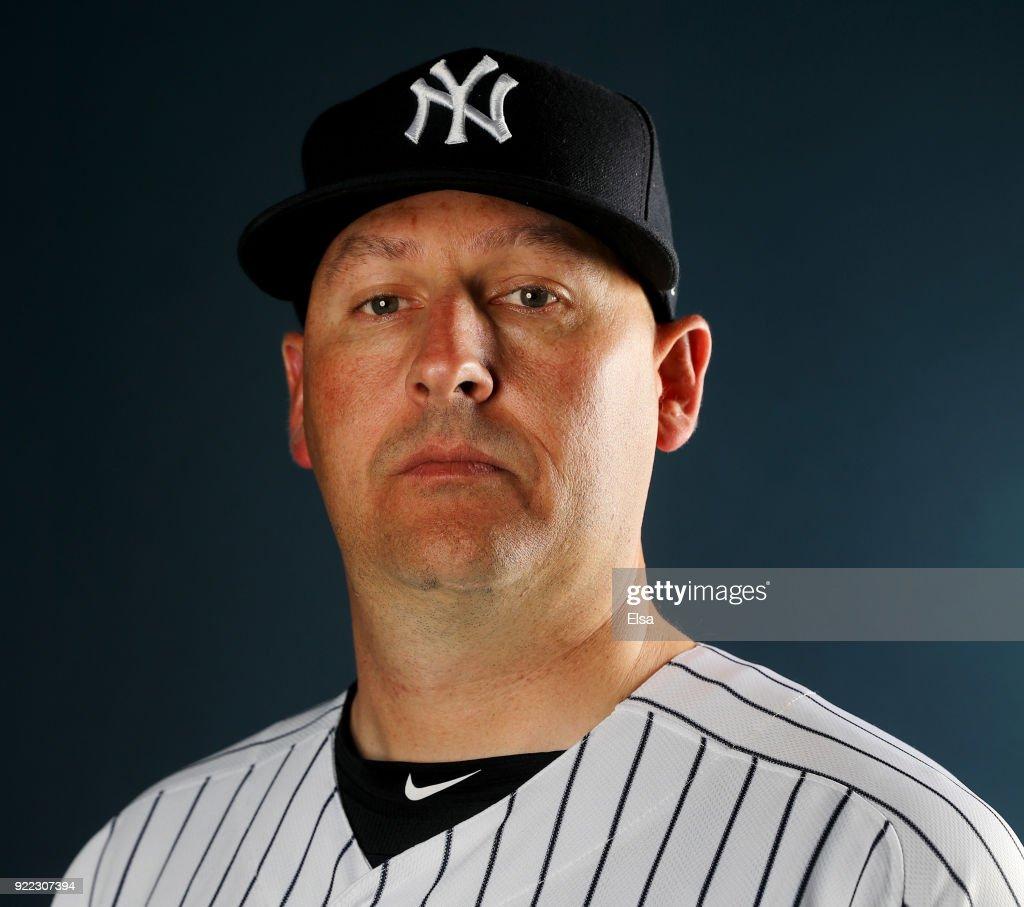 New York Yankees Photo Day : News Photo