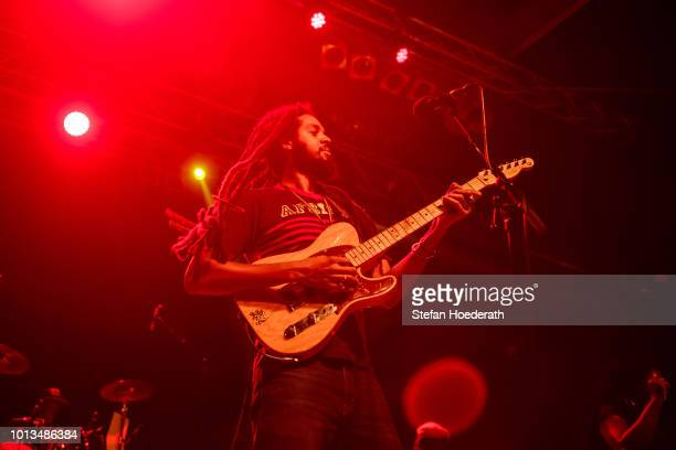 Josh Barrett of the Wailers performs live on stage during a concert at Huxleys Neue Welt on August 8 2018 in Berlin Germany