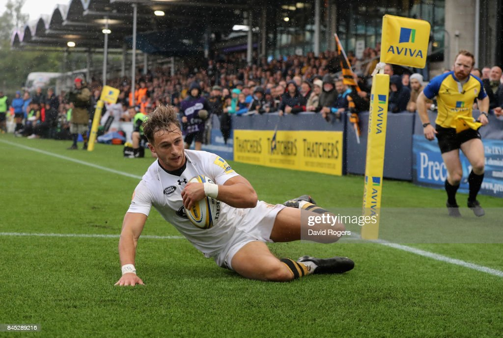 Worcester Warriors v Wasps - Aviva Premiership : News Photo
