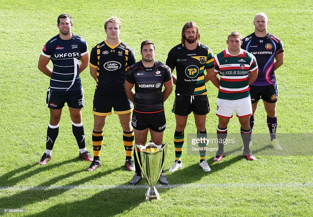 European Rugby Launch for Aviva Premiership clubs : News Photo