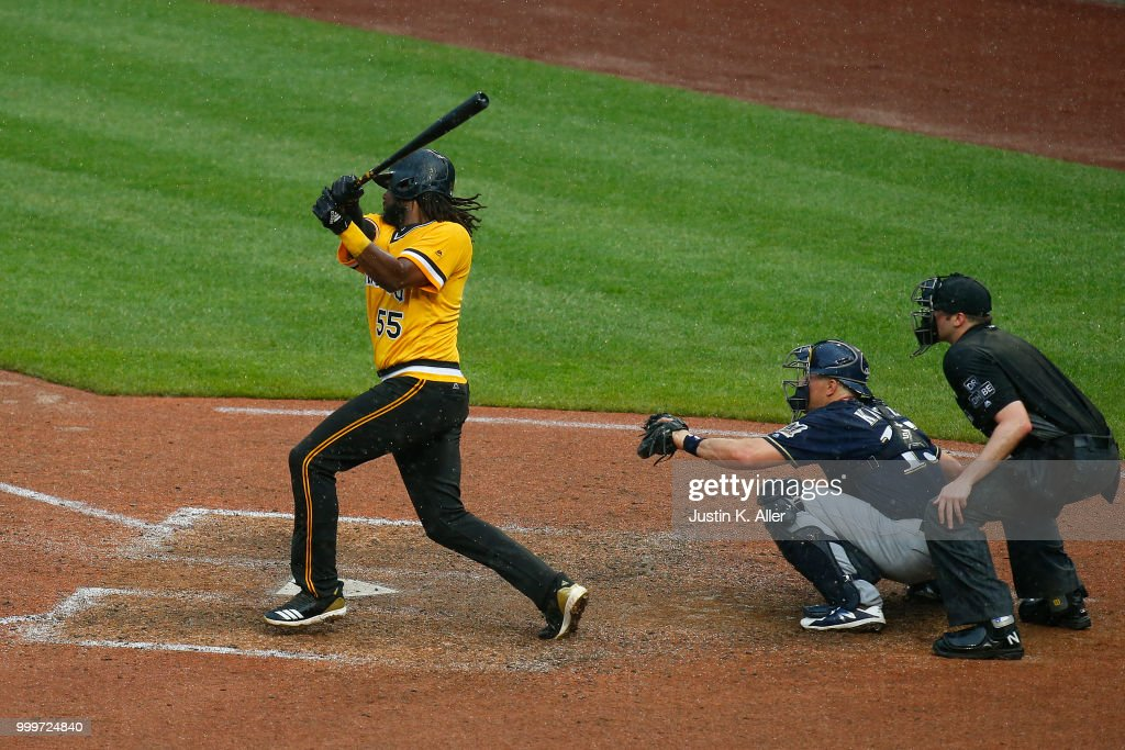 Milwaukee Brewers v Pittsburgh Pirates : News Photo