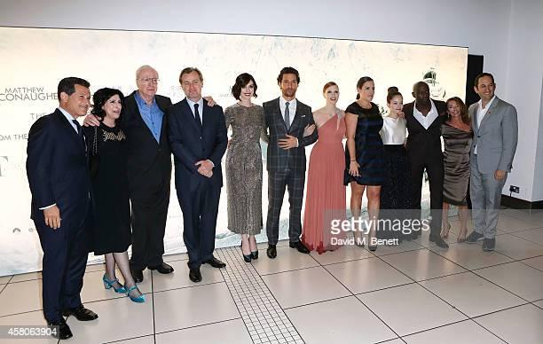 Josh Berger guest Sir Michael Caine director Christopher Nolan Anne Hathaway Matthew McConaughey Jessica Chastain Emma Thomas Mackenzie Foy David...