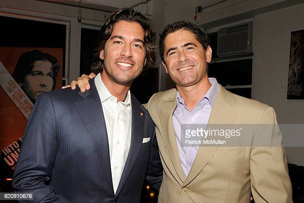 Josh Bernstein and Jim Ornstein attend INTO THE UNKNOWN with JOSH BERNSTEIN Party hosted by DISCOVERY CHANNEL at Westside Loft on August 13 2008 in...