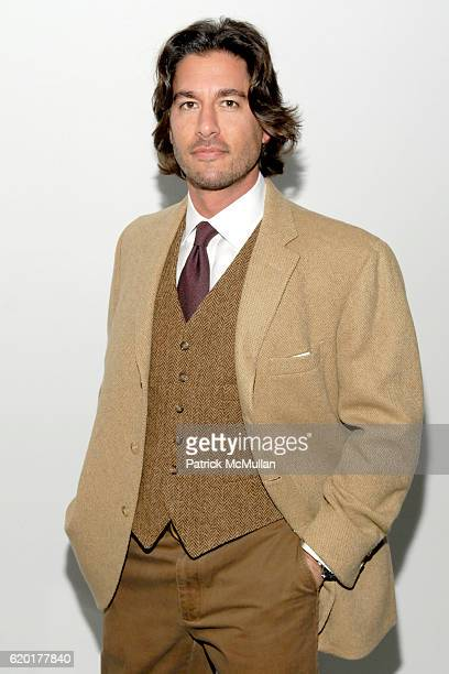 Josh Bernstein attends Private Screening of PRAY THE DEVIL BACK TO HELL at Celeste Bartos Theater and Plaza Athenee on November 9 2008 in New York...