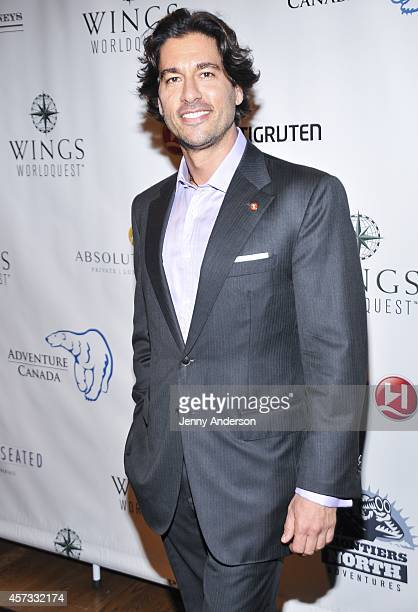 Josh Bernstein attends the 2014 Wings WorldQuest Women of Discovery Awards at Stephan Weiss Studio on October 16 2014 in New York City