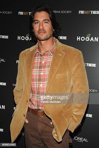 Josh Bernstein attends THE CINEMA SOCIETY and HOGAN host a screening of I'M NOT THERE at Clearview Chelsea West on November 13 2007 in New York City