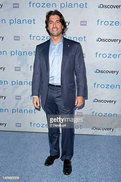Josh Bernstein attends the Frozen Planet premiere at Alice Tully Hall Lincoln Center on March 8 2012 in New York City