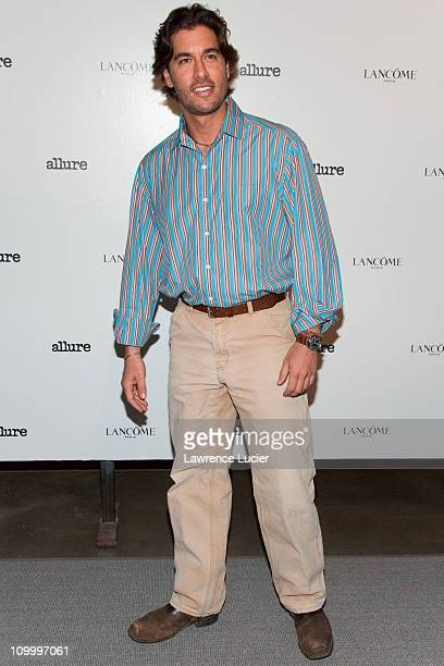 Josh Bernstein during Allure Magazine and Lancome Unveil Most Alluring Bodies Photo Exhibit April 24 2006 at Milk Studios in New York City New York...