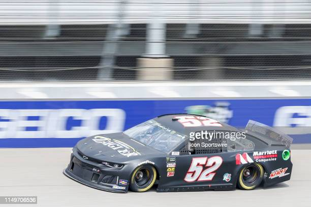 Josh Bilicki Chevrolet during qualifying for the Monster Energy NASCAR Cup Series FireKeepers Casino 400 on June 8 2019 at Michigan International...