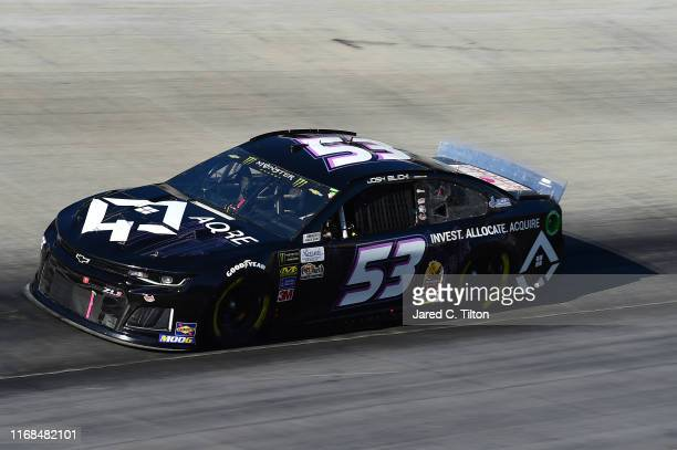 Josh Bilicki driver of the AQRE Chevrolet qualifies for the Monster Energy NASCAR Cup Series Bass Pro Shops NRA Night Race at Bristol Motor Speedway...