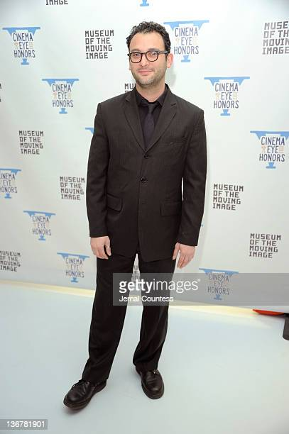 Josh Braun attends the 5th Annual Cinema Eye Honors for Nonfiction Filmmaking at the Museum of the Moving Image on January 11 2012 in the Queens...