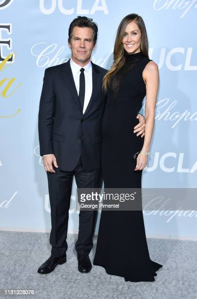 Josh Brolin and Kathryn Boyd arrives at the 2019 Hollywood For Science Gala at Private Residence on February 21 2019 in Los Angeles California
