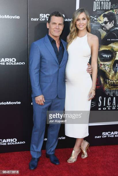 Josh Brolin and Kathryn Boyd attend Columbia Pictures' 'Sicario Day Of The Soldado' Premiere at Westwood Regency Theater on June 26 2018 in Los...