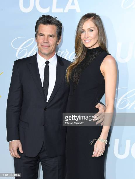 Josh Brolin and Kathryn Boyd attend the 2019 Hollywood For Science Gala at Private Residence on February 21 2019 in Los Angeles California