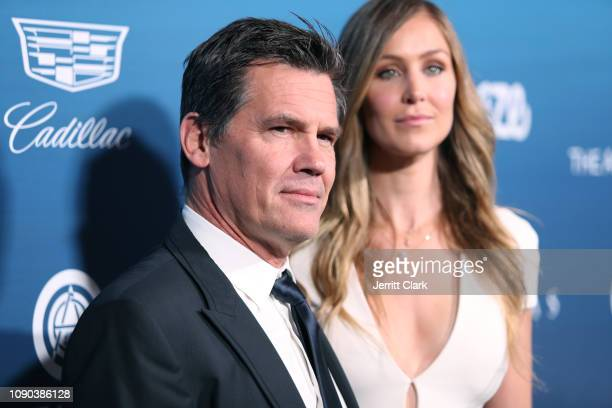 Josh Brolin and Kathryn Boyd attend The Art Of Elysium's 12th Annual Celebration Heaven Arrivals on January 05 2019 in Los Angeles California
