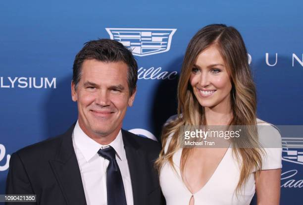 Josh Brolin and Kathryn Boyd attend The Art Of Elysium's 12th Annual Celebration Heaven held on January 05 2019 in Los Angeles California