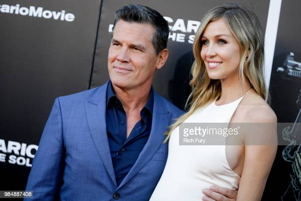 Josh Brolin and Kathryn Boyd attend the premiere of Columbia Pictures' Sicario Day Of The Soldado at Regency Village Theatre on June 26 2018 in...