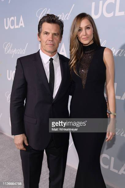 Josh Brolin and Kathryn Boyd attend the UCLA IoES honors Barbra Streisand and Gisele Bundchen at the 2019 Hollywood for Science Gala on February 21...