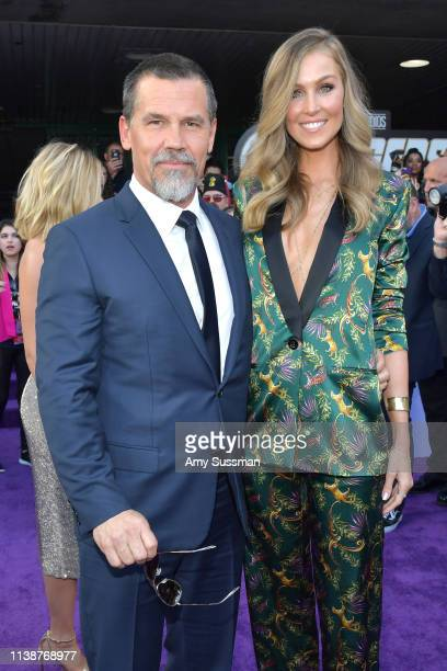 """Josh Brolin and Kathryn Boyd attend the world premiere of Walt Disney Studios Motion Pictures """"Avengers: Endgame"""" at the Los Angeles Convention..."""