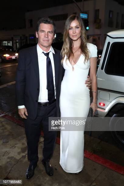 Josh Brolin and Kathryn Boyd attends Michael Muller's HEAVEN presented by The Art of Elysium on January 5 2019 in Los Angeles California