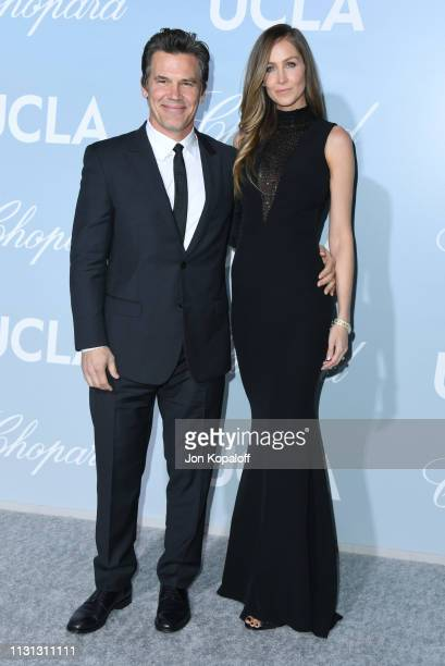 Josh Brolin and Kathryn Boyd Brolin attend the 2019 Hollywood For Science Gala at Private Residence on February 21, 2019 in Los Angeles, California.