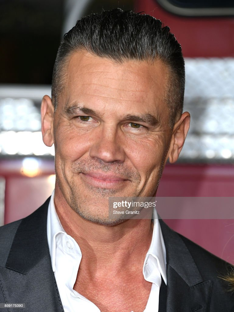 Josh Brolin arrives at the Premiere Of Columbia Pictures' 'Only The Brave' at Regency Village Theatre on October 8, 2017 in Westwood, California.