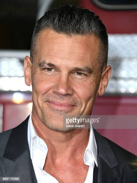 Josh Brolin arrives at the Premiere Of Columbia Pictures' 'Only The Brave' at Regency Village Theatre on October 8 2017 in Westwood California