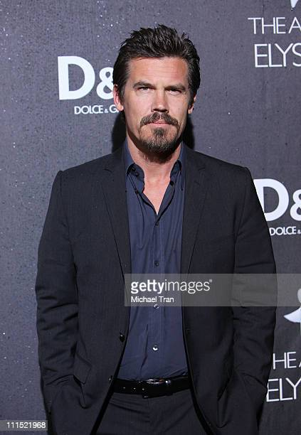 Josh Brolin arrives to the DG Flagship Boutique Opening in support of The Art of Elysium held on December 15 2008 in Beverly Hills California