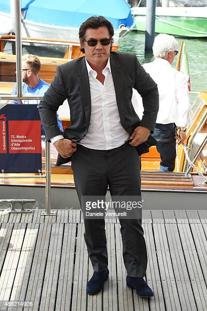 Josh Brolin arrives to the 'Everest' photocall during the 72nd Venice Film Festival on September 2 2015 in Venice Italy