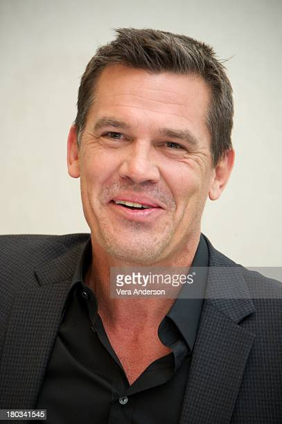 Josh Brolin at the 'Labor Day' Press Conference at the Trump International Hotel on September 8 2013 in Toronto Ontario