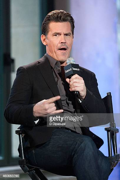 Josh Brolin attends AOL Build Speaker Series Presents Josh Brolin at AOL Studios In New York on December 19 2014 in New York City