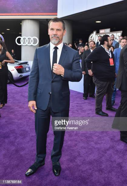 Josh Brolin attends Audi Arrives At The World Premiere Of Avengers Endgame on April 22 2019 in Hollywood California