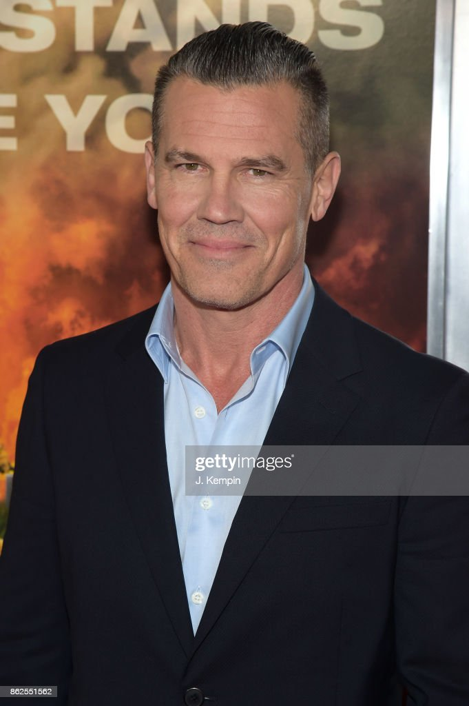 Josh Brolin attends 'Only The Brave' screening at iPic Theater on October 17, 2017 in New York City.