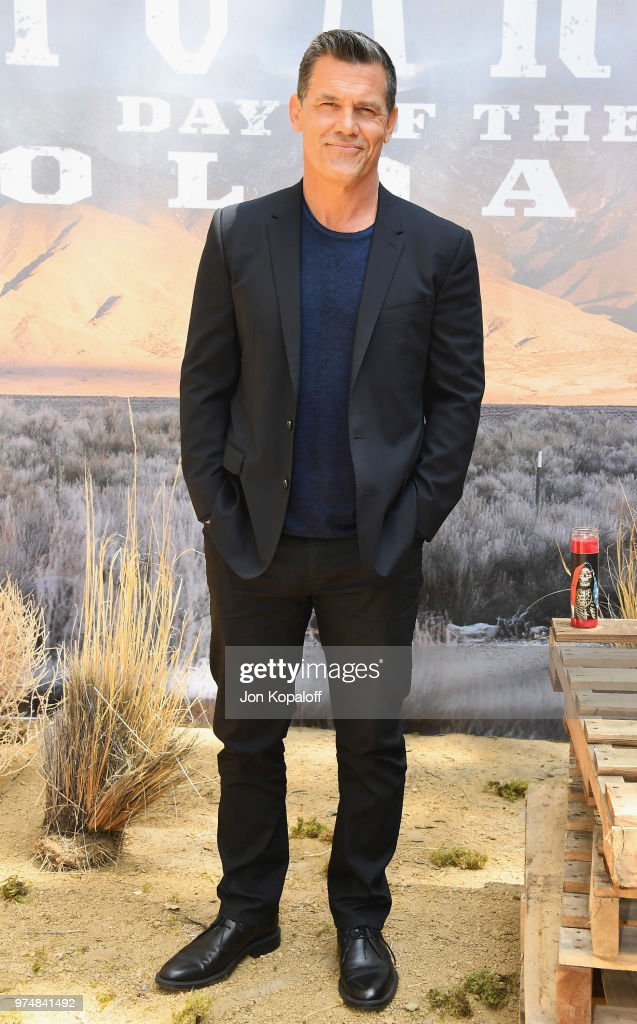 Josh Brolin attends 'Sicario Day Of The Soldado' Photo Call at Four Seasons Hotel Los Angeles at Beverly Hills on June 14, 2018 in Los Angeles, California.