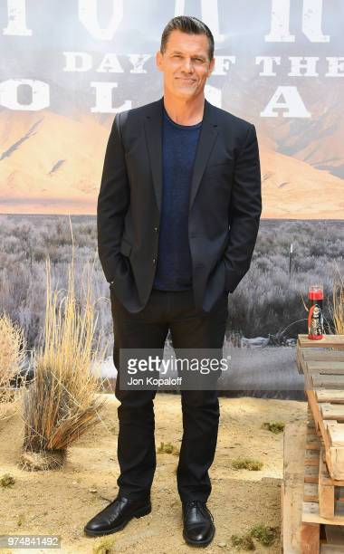 Josh Brolin attends 'Sicario Day Of The Soldado' Photo Call at Four Seasons Hotel Los Angeles at Beverly Hills on June 14 2018 in Los Angeles...