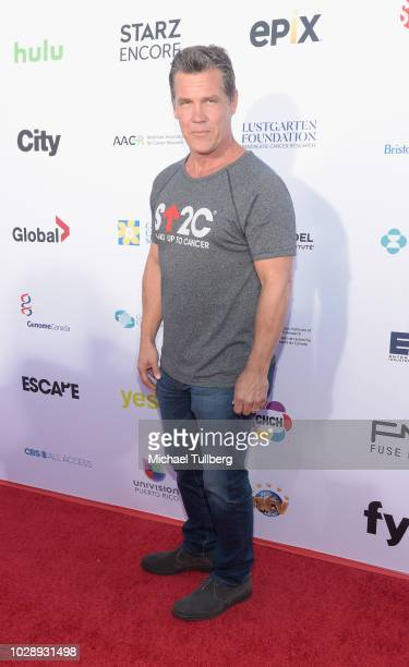 Josh Brolin attends the 2018 Stand Up To Cancer fundraising special telecast at Barker Hangar on September 7 2018 in Santa Monica California