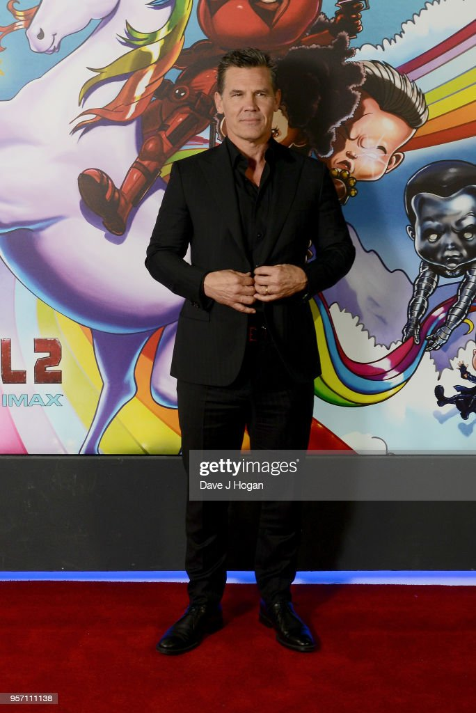 Josh Brolin attends the 'Deadpool 2' fan screening at Cineworld Leicester Square on May 10, 2018 in London, England.