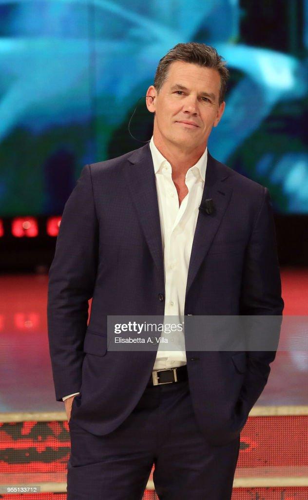 Josh Brolin attends the Italian TV show 'Ballando Con Le Stelle' (Dancing with the Stars) at RAI Auditorium on May 5, 2018 in Rome, Italy.