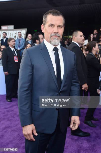 Josh Brolin attends the Los Angeles World Premiere of Marvel Studios' Avengers Endgame at the Los Angeles Convention Center on April 23 2019 in Los...