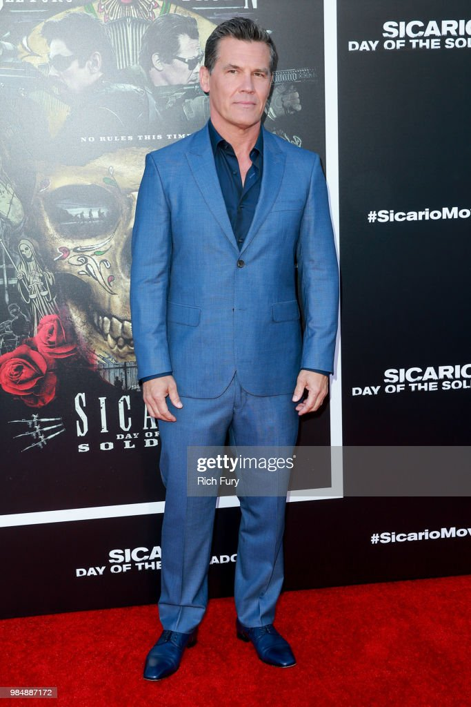 Josh Brolin attends the premiere of Columbia Pictures' 'Sicario: Day Of The Soldado' at Regency Village Theatre on June 26, 2018 in Westwood, California.