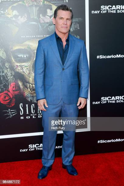 Josh Brolin attends the premiere of Columbia Pictures' Sicario Day Of The Soldado at Regency Village Theatre on June 26 2018 in Westwood California