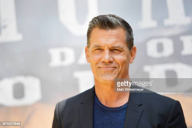 Josh Brolin attends the Sicario Day Of The Soldado Photo Call at Four Seasons Hotel Los Angeles at Beverly Hills on June 14 2018 in Los Angeles...