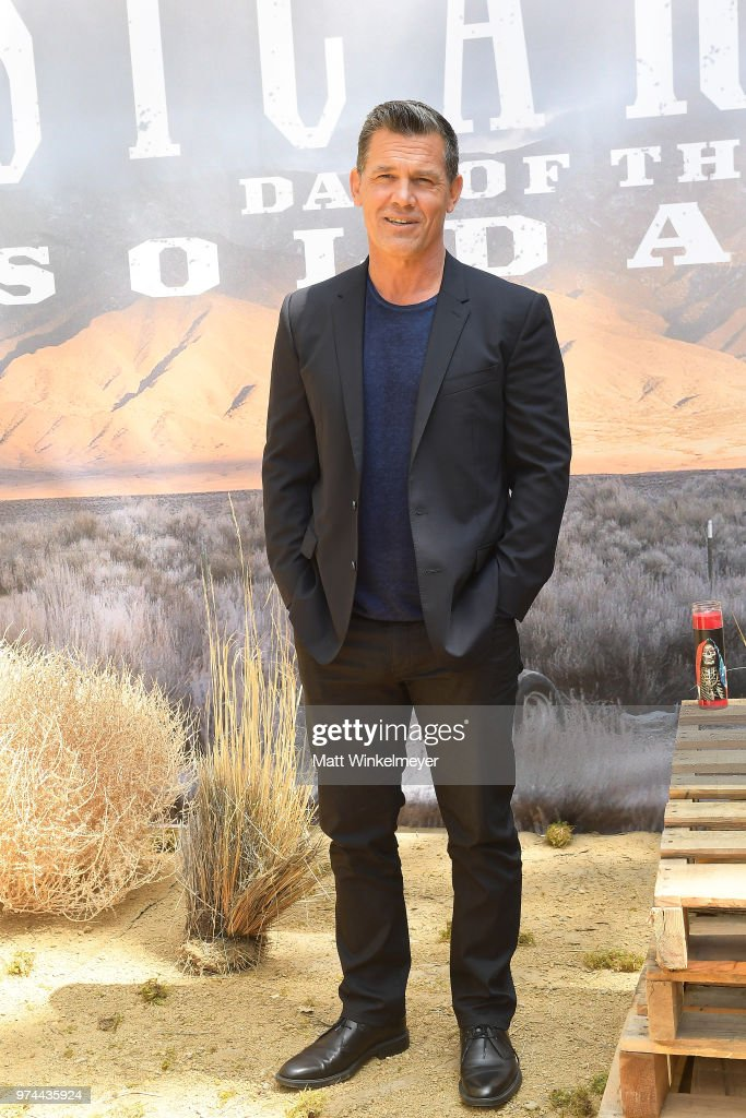 Josh Brolin attends the 'Sicario Day Of The Soldado' Photo Call at Four Seasons Hotel Los Angeles at Beverly Hills on June 14, 2018 in Los Angeles, California.
