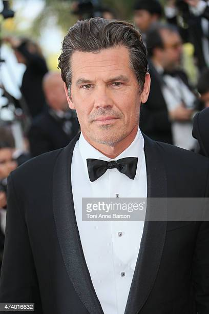 Josh Brolin attends the 'Sicario' premiere during the 68th annual Cannes Film Festival on May 19 2015 in Cannes France