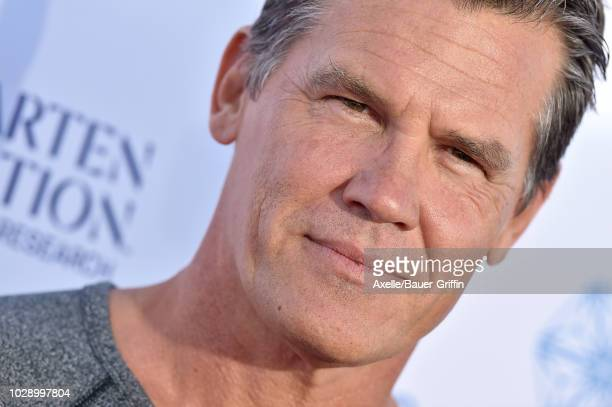 Josh Brolin attends the sixth biennial Stand Up To Cancer telecast at the Barker Hangar on Friday September 7 2018 in Santa Monica California