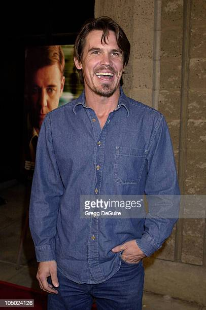 Josh Brolin during 'A Beautiful Mind' Premiere at AMPAS Theatre in Beverly Hills California United States
