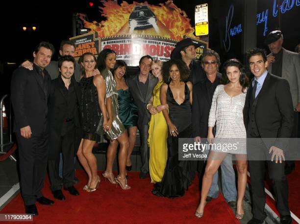 Josh Brolin Freddy Rodriguez Michael Biehn Zoe Bell Sydney Tamiia Poitier Rosario Dawson Quentin TarantinoMarley Shelton Tracie Thoms Robert...
