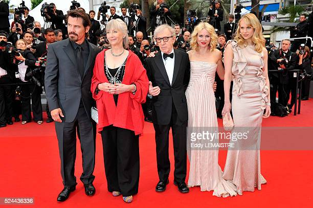 Josh Brolin Gemma Jones Naomi Watts Woody Allen and Lucy Punch at the premiere of You Will Meet A Tall Dark Stranger during the 63rd Cannes...